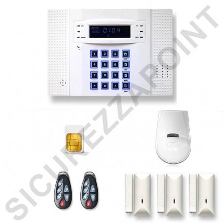 Kit singola frequenza hdpro gsm antifurto casa wireless gsm 10 pezzi sicurezzapoint - Miglior antifurto casa wireless ...