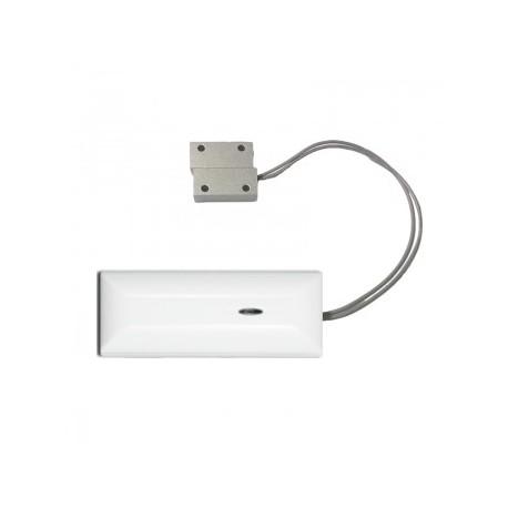 Sensore contatto magnetico porta/finestra specifico per porte basculanti, ferro, metallo.