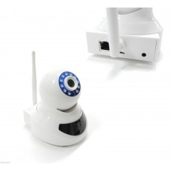 IP CAM HD 720P 1 MEGAPIXELS SD CARD INTEGRATA