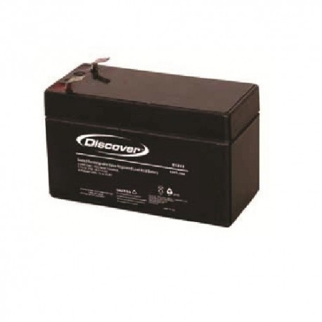 Batteria 1,2 AH per centrale HDPRO-IRON o sirena ISIDE