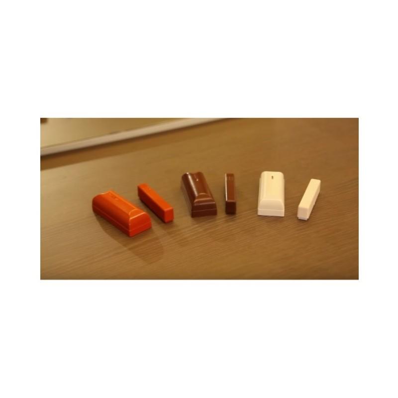 Contatto magnetico porta finestra HD Bianco o Colorato per HDPRO : Vendita Online  Sicurezzapoint