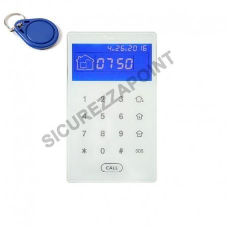 Tastiera HDPRO senza fili con RFID PROXY e ripetitore di stato supervisionata
