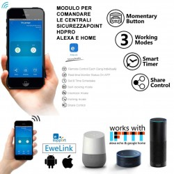 Modulo AMAZON ALEXA GOOGLE HOME PER CENTRALI HDPRO-WEB E COLOUR