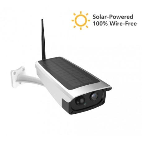 Telecamera a pannello solare WIFI da esterno