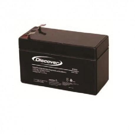 Batteria 1,2 AH per centrale HDPRO-IRON o sirena ISIDE