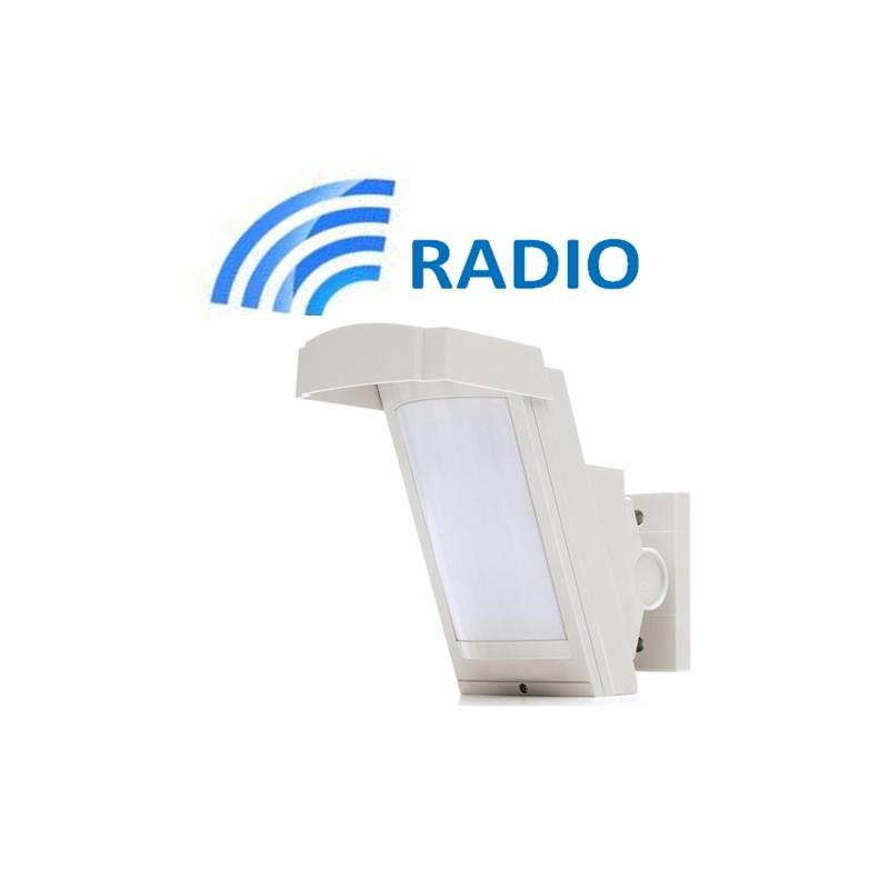 Sensore esterno optex hx40ram senza fili wireless - Miglior antifurto per casa ...