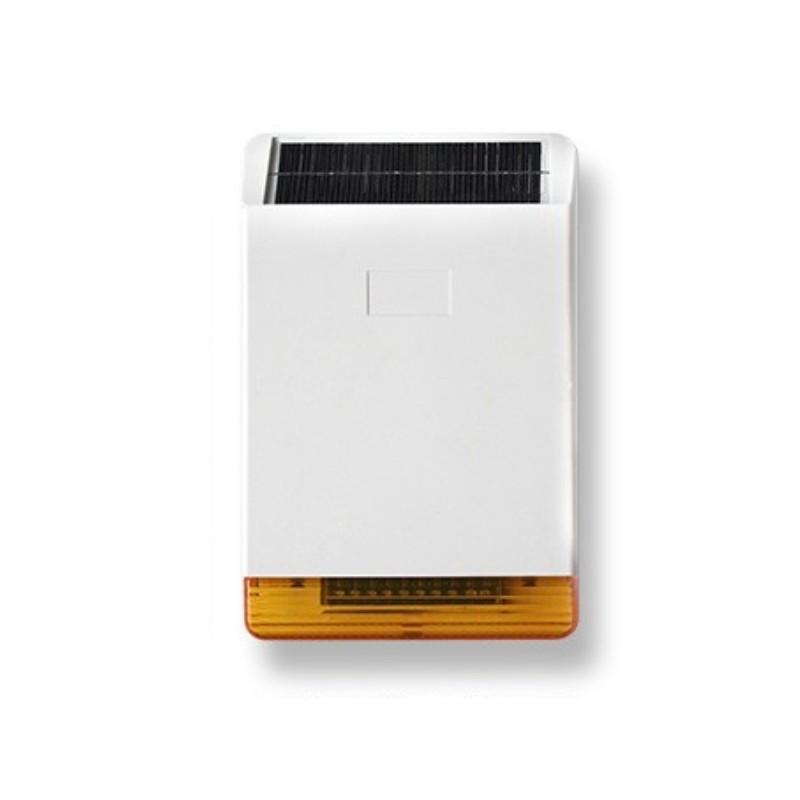 Sirena da esterno a pannello solare per hdpro sicurezzapoint - Miglior antifurto casa wireless ...
